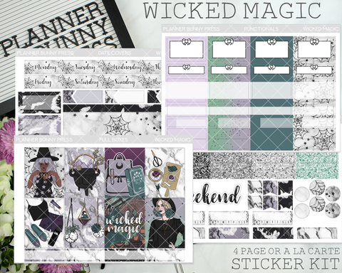 Wicked Magic | Vertical Sticker Kit