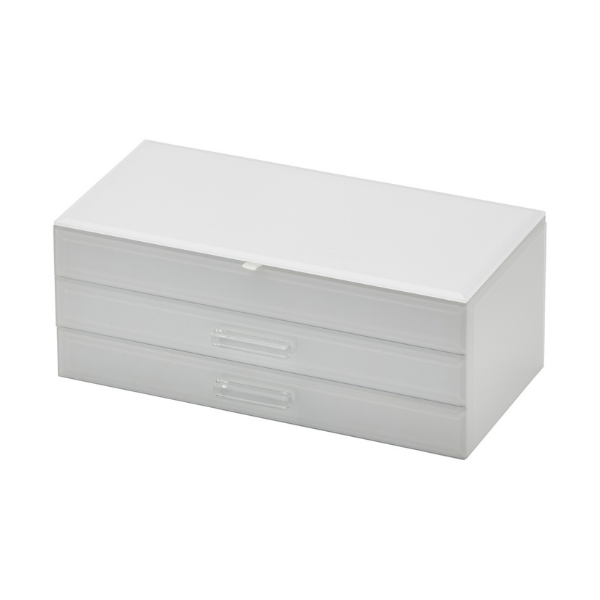 Gabriella Jewellery Box White Large