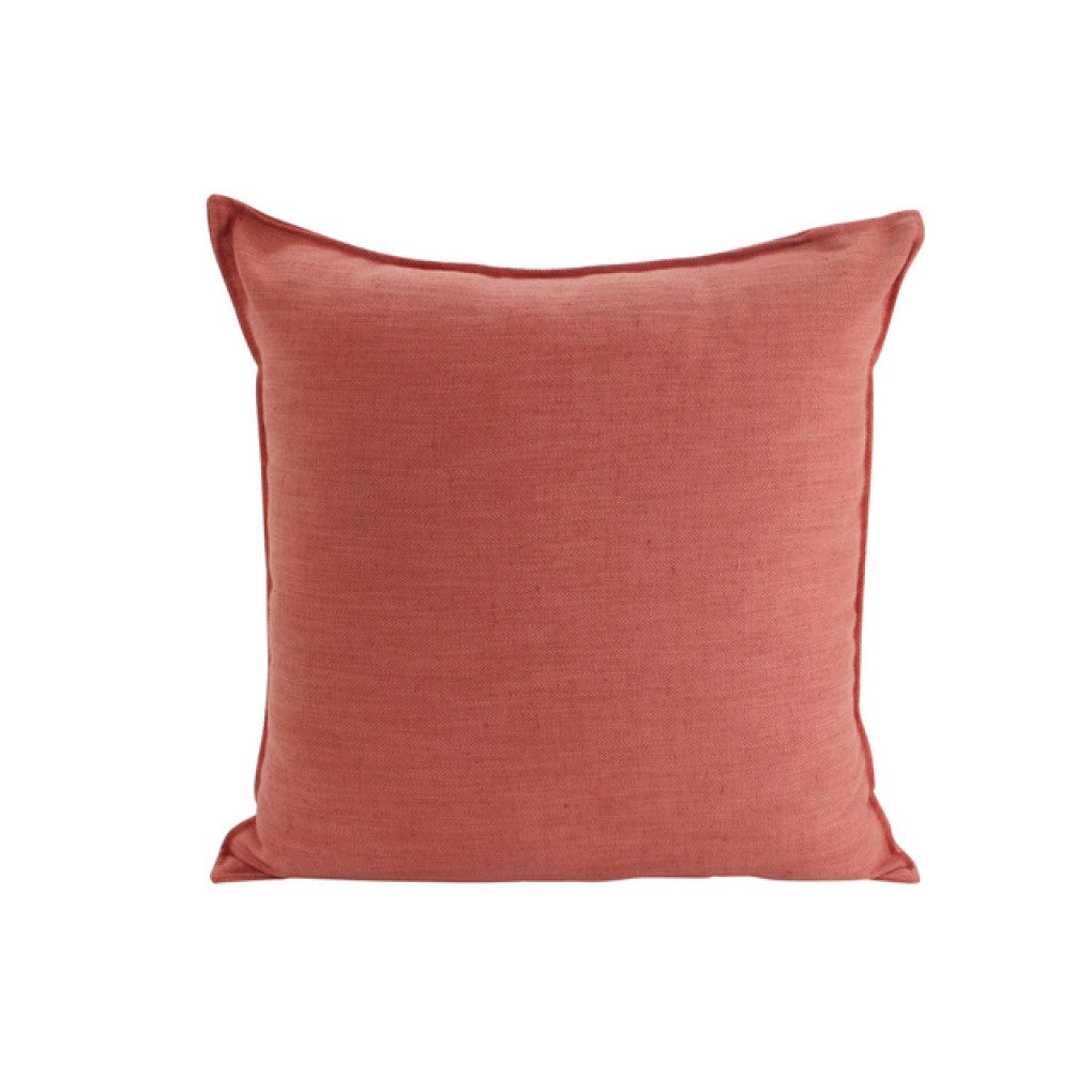 Cushion Linen Rust 45x45cm
