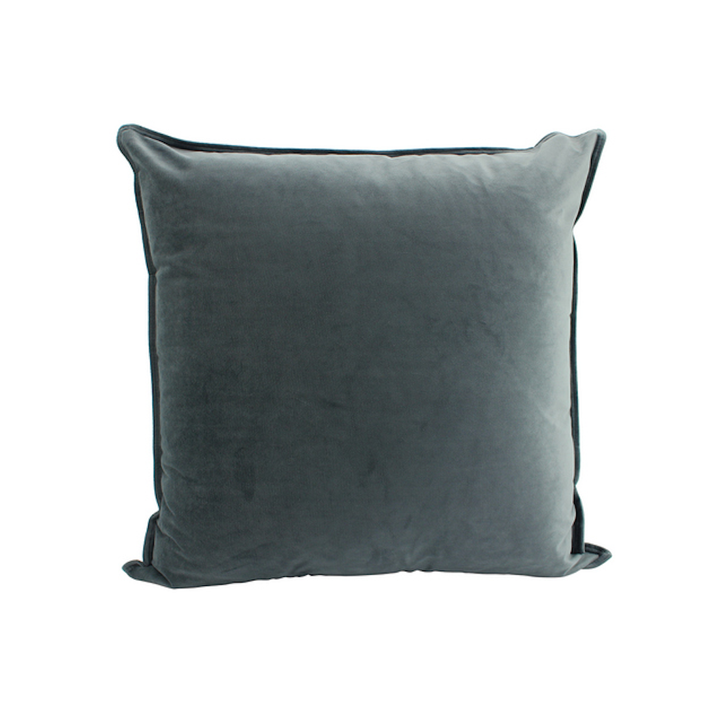 Cushion Velvet Smoke 55x55cm