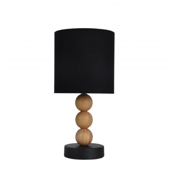 Cara Table Lamp Black