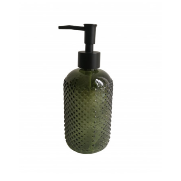 Darli Soap Dispenser 19x7.5cm Deep Green