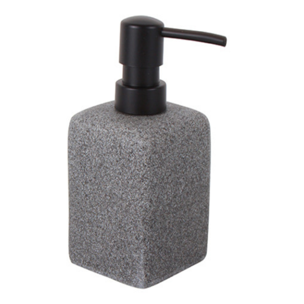 Granite Look Soap Dispenser 15x7cm