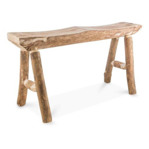 Wooden Bench Stool Large 90x43x34cm