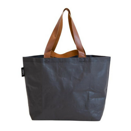Poly Shopper Tote Stealth Black
