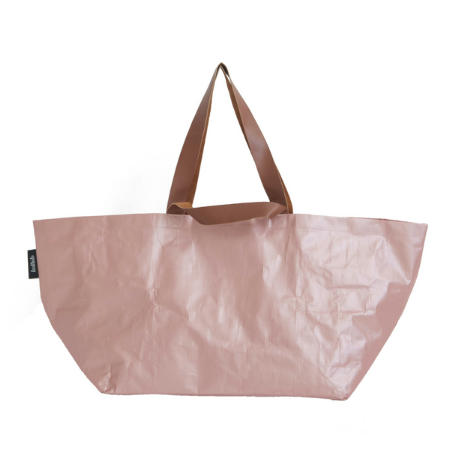 Poly Beach Bag Rose Gold