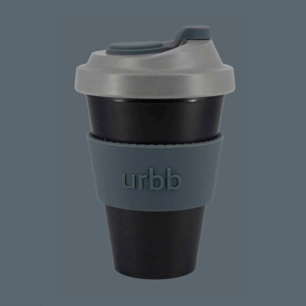 Urbb Cup Berlin Black Grey Charcoal