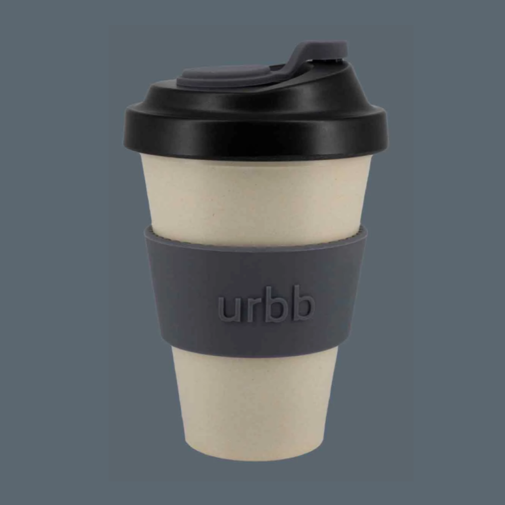 Urbb Cup Harstad Natural Black Charcoal