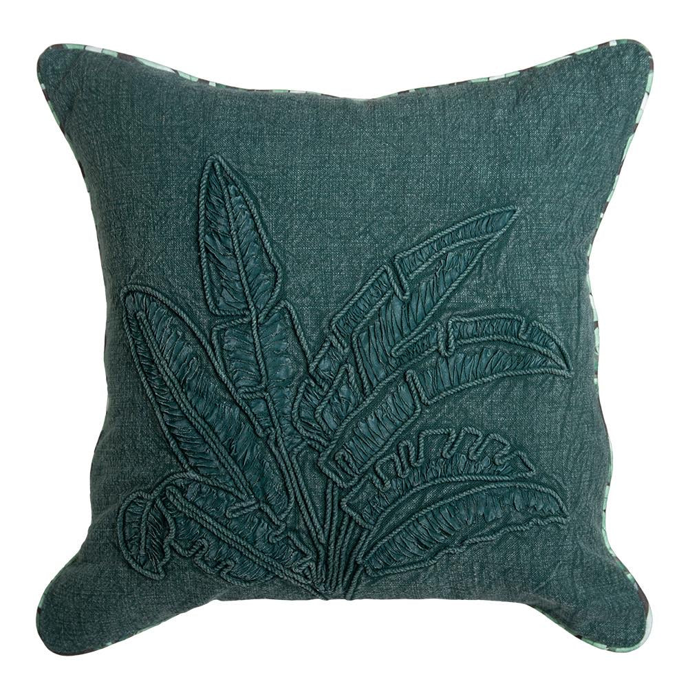 Norrie Cushion 50x50cm Eden Green