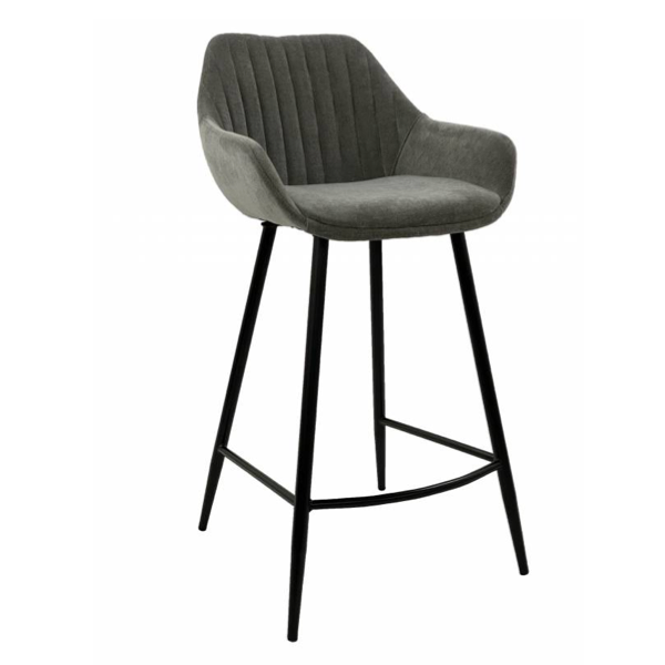 September Stool Light Grey