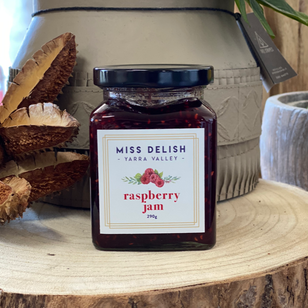 Miss Delish Raspberry Jam 290gm