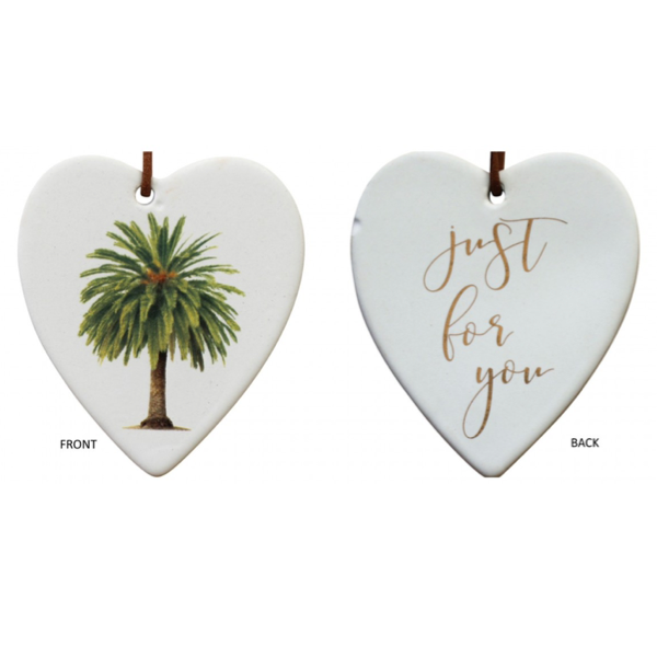 Hanging Heart Date Palm For You
