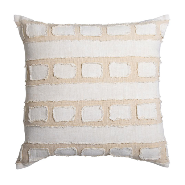 Tandall Cushion 50x50cm Ivory Natural