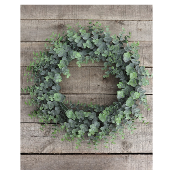 Eucalyptus Wreath Green 35cm
