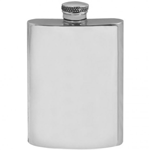 Pewter Hip Flask 4oz