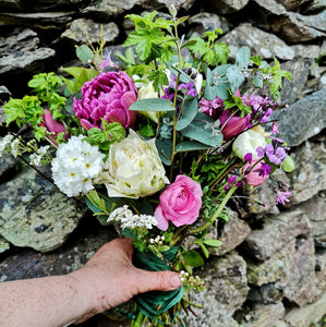 HAND TIED BOUQUET - SMALL