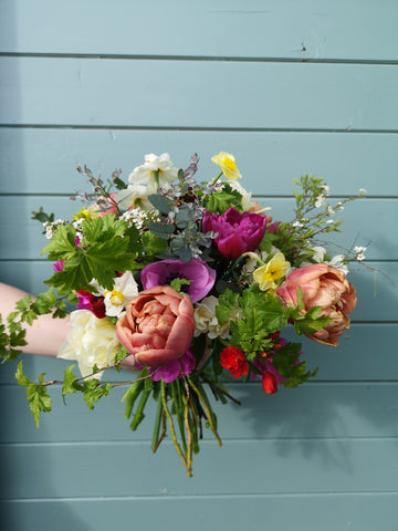 Hand-Tied Spring Bouquet