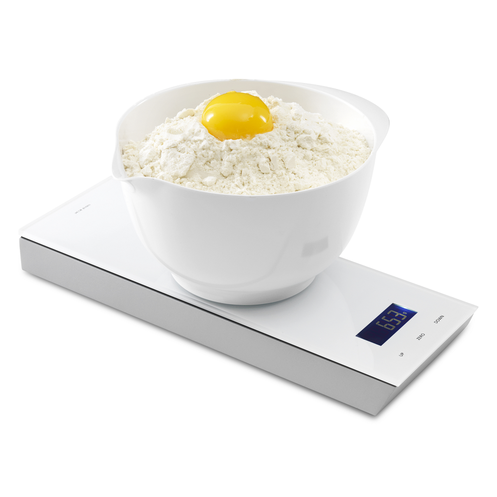 TimerScale Kitchen Scale, White