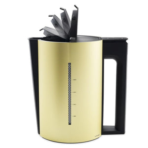 Electric Kettle, Gold, 1.2 L