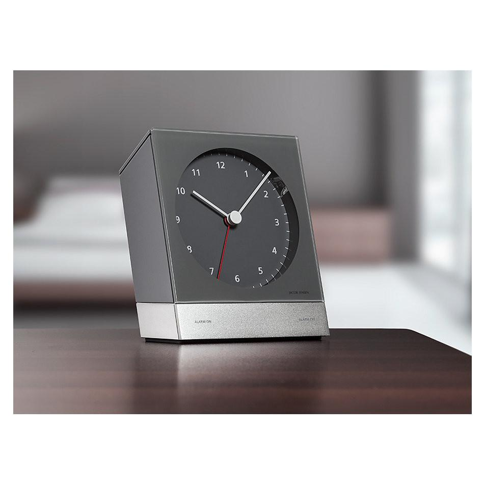 Desk Alarm Clock 340, Grey