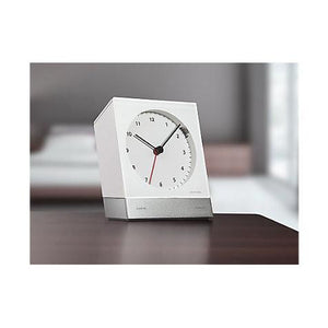 Desk Alarm Clock 342, White