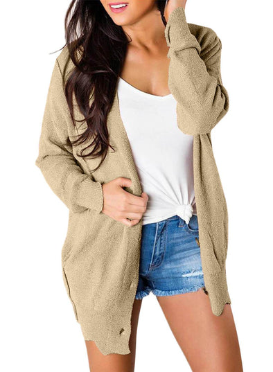 Button Down Casual Sweater Cardigan