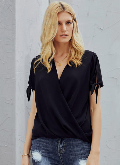 Charismatic Drape Blouse