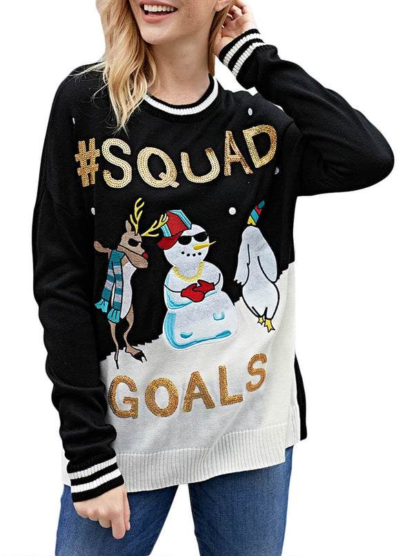Christmas Snowman Ugly Sweater