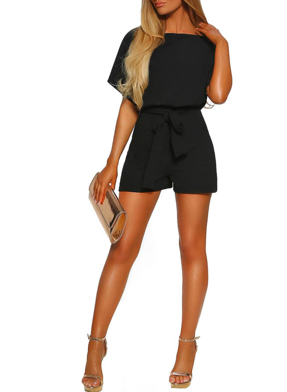 Over The Top Belted Playsuit