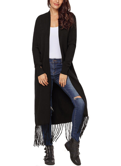 Long Line Knitted Cardigan