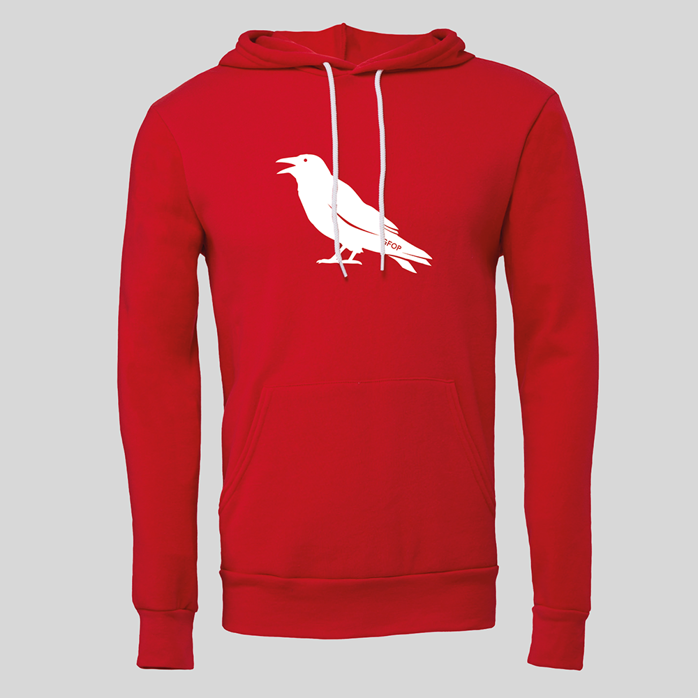Raven GFOP Pullover Hoodie - Reds