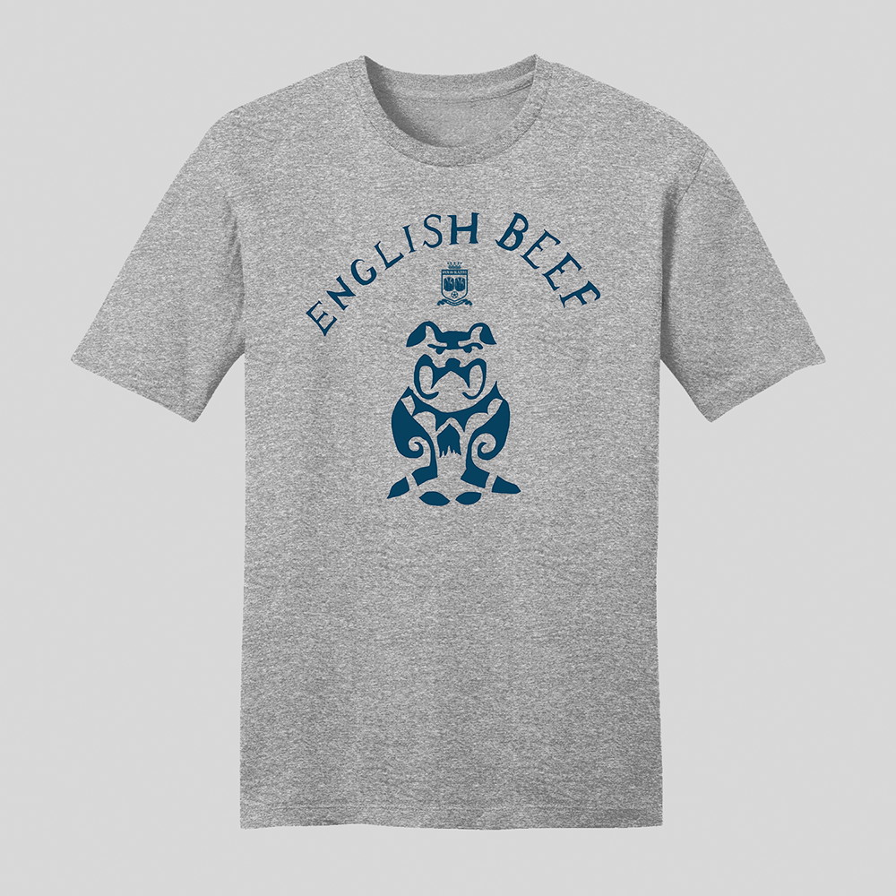 English Beef T-Shirt Grey