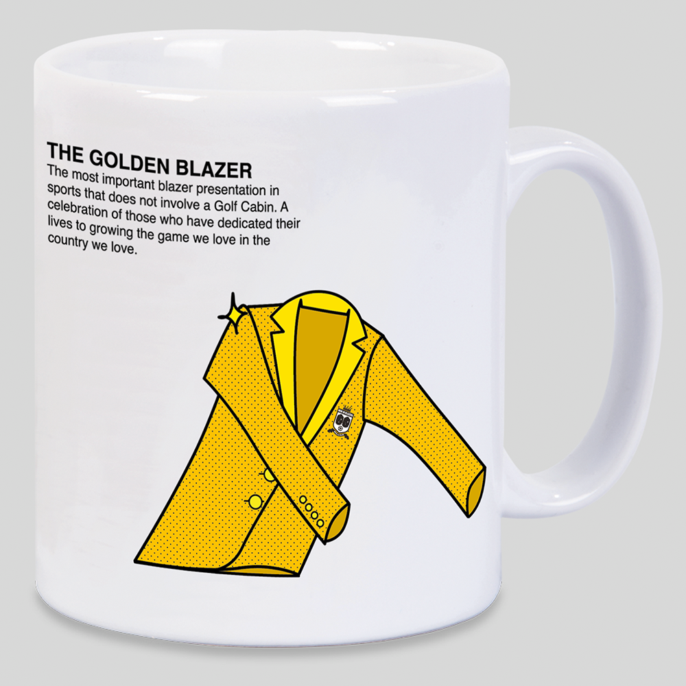 Golden Blazer Mug