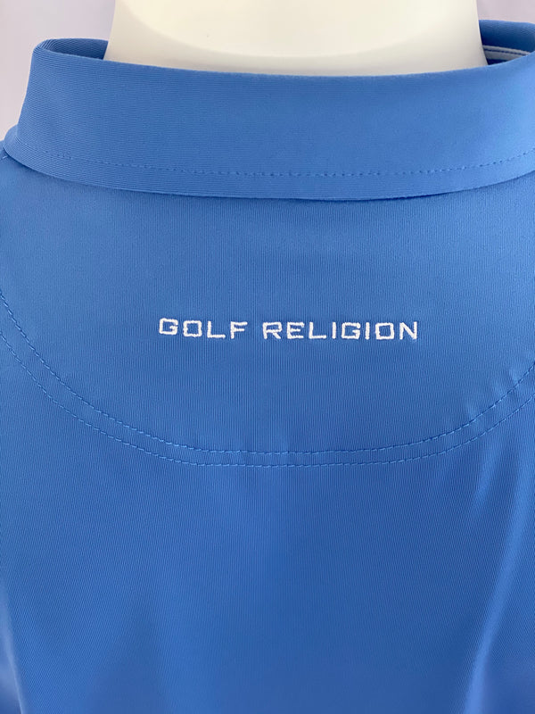 Men's Solid Polo (sky blue)