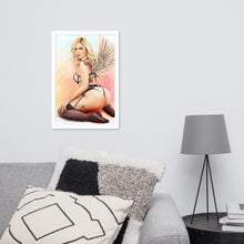 Load image into Gallery viewer, Angel Kali Art Framed Poster