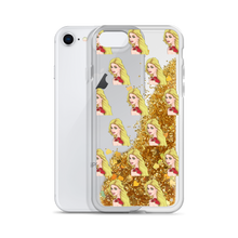 Load image into Gallery viewer, Liquid Glitter iPhone Case (Kali Graphic)