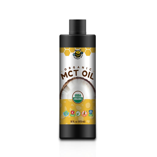 Groovy Bee® Organic MCT Oil 16 fl oz (473ml)