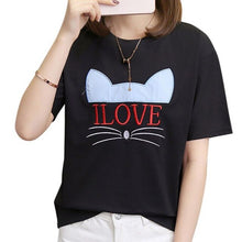 Load image into Gallery viewer, I LOVE CATS Tee - Purrfect Apparel