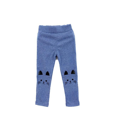 Baby Girls Kids Stretchy Warm Leggings - Purrfect Apparel