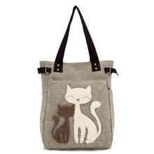 Load image into Gallery viewer, Canvas Handbag - Purrfect Apparel