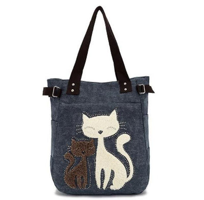 Canvas Handbag - Purrfect Apparel