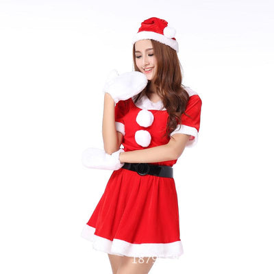 Miss Claus Christmas Costume Fancy Dress - Purrfect Apparel