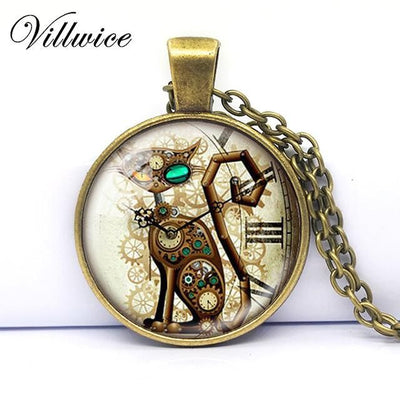 Steampunk Cat Pocket Watch - Purrfect Apparel