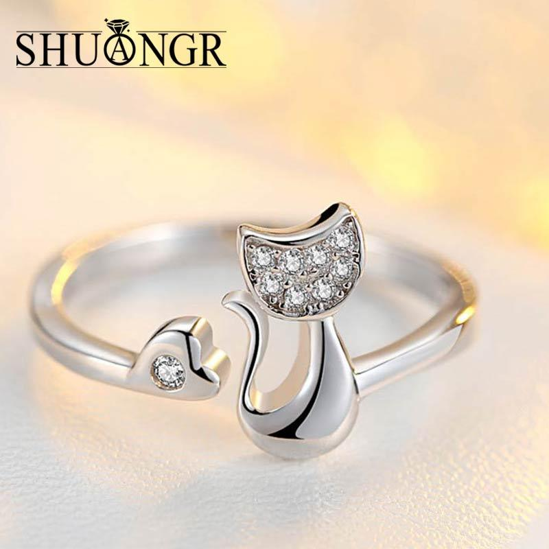 Cute Cat Ring - Purrfect Apparel