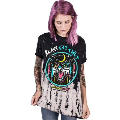'Stay Away Human!!' T-Shirt - Purrfect Apparel