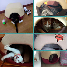 Load image into Gallery viewer, Foldable Cat Bed - Purrfect Apparel