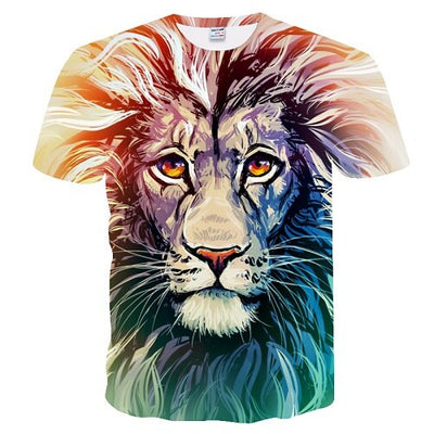 3D Printed Lion Tee - Purrfect Apparel