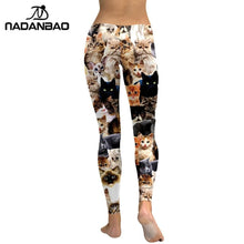 Load image into Gallery viewer, Women Workout Leggings - Purrfect Apparel