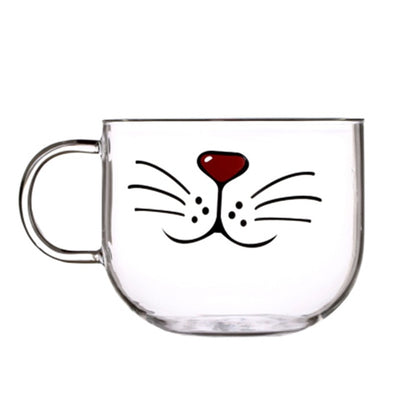 Novelty Cat Face Mug - Purrfect Apparel