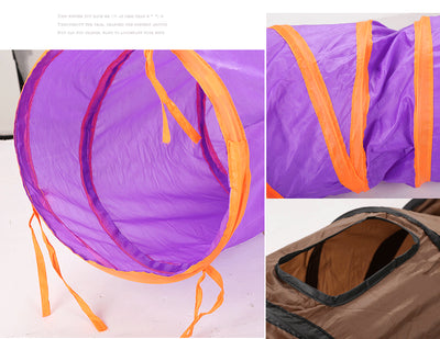 S Shape Foldable Tunnel - Purrfect Apparel
